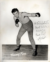 FARR, TOMMY SIGNED PHOTO
