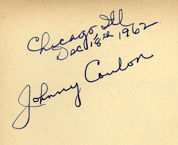 COULON, JOHNNY INK SIGNATURE