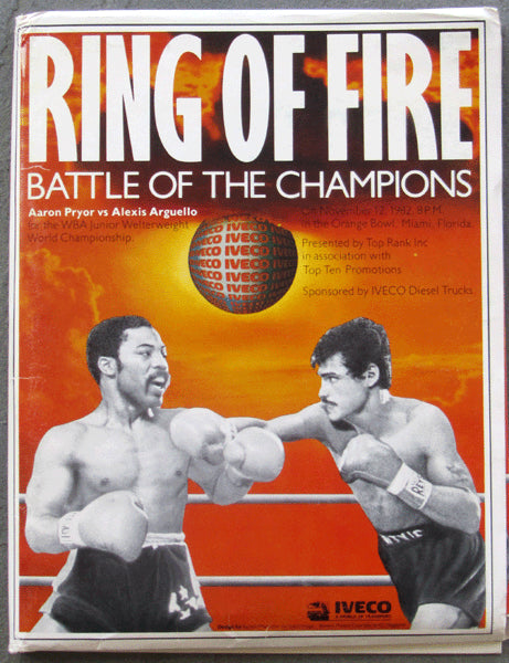 PRYOR, AARON-ALEXIS ARGUELLO I PRESS KIT (1982)