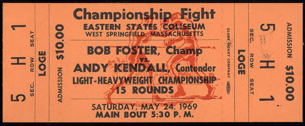 FOSTER, BOB-ANDY KENDALL FULL TICKET (1969)