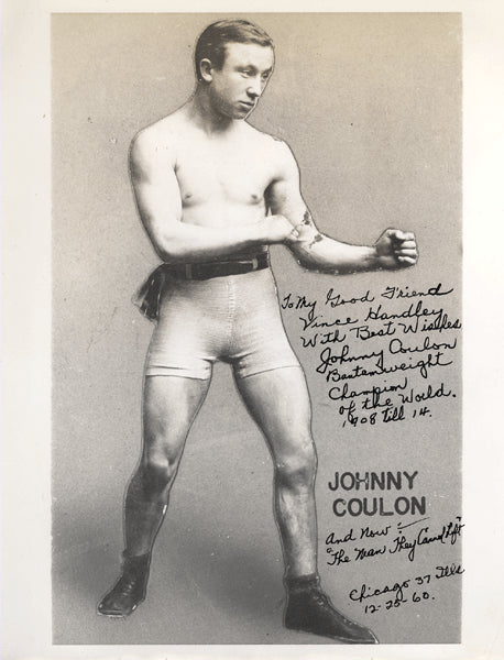 COULON, JOHNNY SIGNED PHOTO