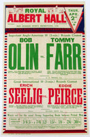 OLIN, BOB-TOMMY FARR ORIGINAL ON SITE POSTER (1936)