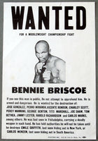 BRISCOE, BENNIE PROMOTIONAL POSTER (EARLY 1970'S)