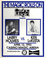 HOLMES, LARRY-KEN LAKUSTA OFFICIAL PROGRAM (1993)