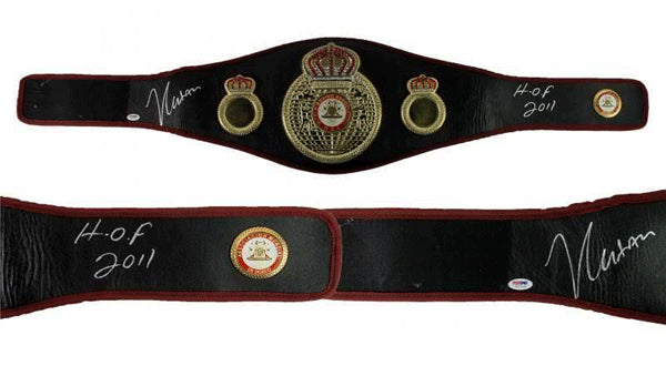 CHAVEZ, JULIO CESAR SIGNED WBA CHAMPIONSHIP BELT (PSA/DNA AUTHENTICATED)