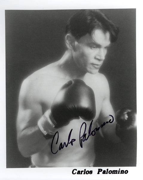 PALOMINO, CARLOS SIGNED PHOTO
