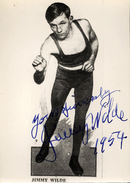 WILDE, JIMMY SIGNED PHOTO