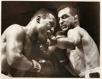 "JONES, RALPH ""TIGER""-CHARLES HUMEZ WIRE PHOTO (1956)"