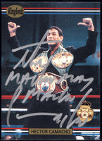 "CAMACHO, HECTOR ""MACHO SIGNED RINGLORDS CARD(1991)"