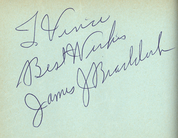 BRADDOCK, JAMES J. INK SIGNATURE