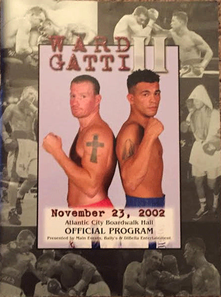 GATTI, ARTURO-MICKEY WARD II OFFICIAL PROGRAM (2002)