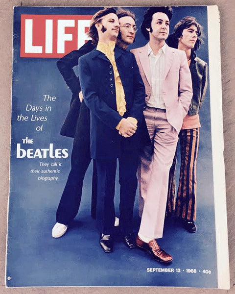 THE BEATLES LIFE MAGAZINE (SEPTEMBER 13, 1968)