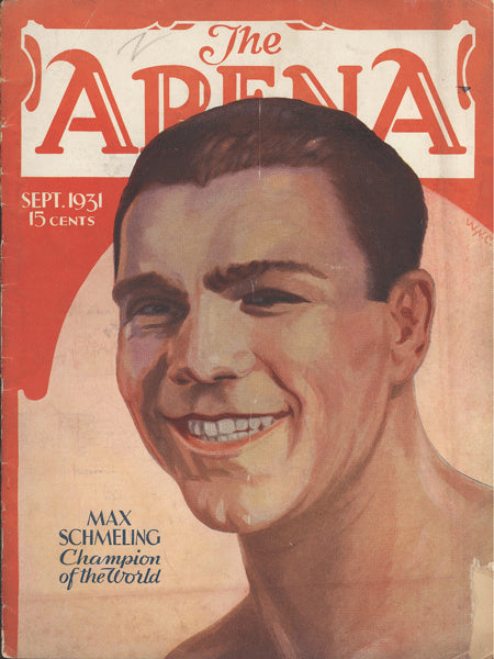 ARENA MAGAZINE SEPTEMBER 1931