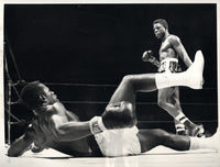 LOGART, ISAAC-VIRGIL AKINS WIRE PHOTO (1958-6TH ROUND)