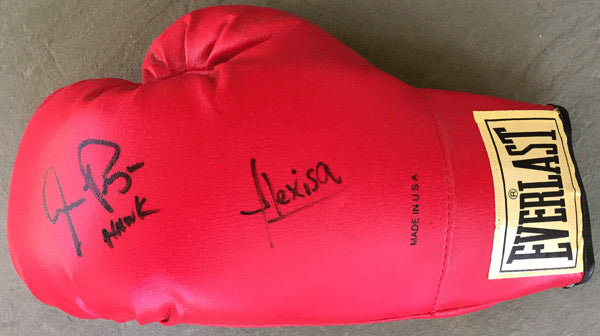 ARGUELLO, ALEXIS & AARON PRYOR SIGNED BOXING GLOVE
