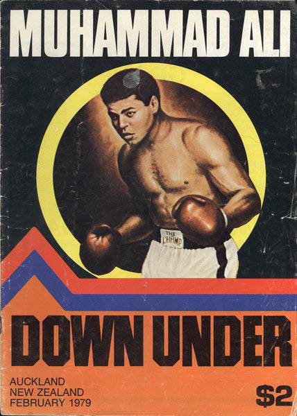 ALI, MUHAMMAD EXHIBITION PROGRAM (1979-NEW ZEALAND)