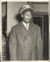 ROBINSON, SUGAR RAY WIRE PHOTO (1943-IN THE ARMY)
