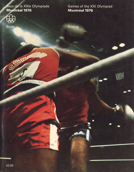 1976 OLYMPIC BOXING PROGRAM (LEONARD, SPINKS, DAVIS)