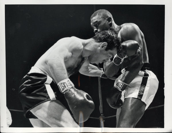CARTER, JIMMY-PADDY DEMARCO I WIRE PHOTO (1954-2ND ROUND)