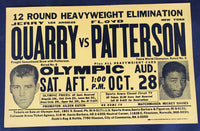 PATTERSON, FLOYD-JERRY QUARRY II ON SITE POSTER (1967)