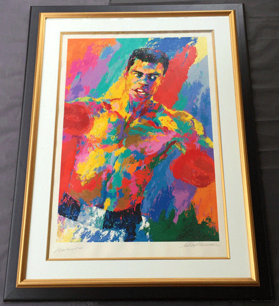 ALI, MUHAMMAD LIMITED EDITION SIGNED LEROY NEIMAN SERIGRAPH (SIGNED BY ALI & NEIMAN)