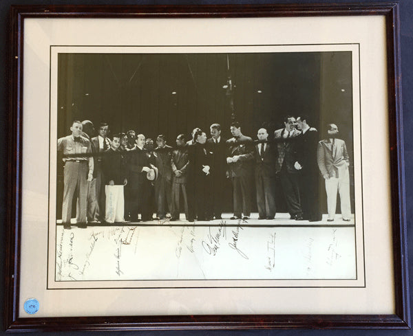 GREATEST BOXING AUTOGRAPHED PHOTO (1937-PSA/DNA)
