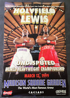 HOLYFIELD, EVANDER-LENNOX LEWIS I ON SITE POSTER (1999)