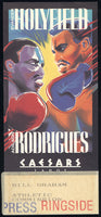 HOLYFIELD, EVANDER-ADILSON RODRIGUES PRESS CREDENTIAL (19