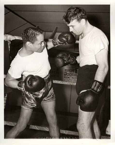 ARMSTRONG, HENRY-KEN OVERLIN WIRE PHOTO (1940)
