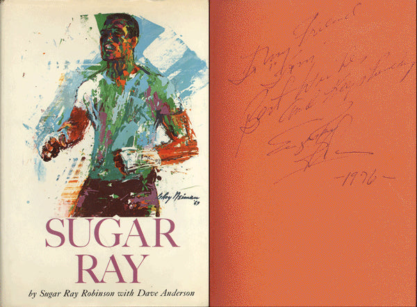 ROBINSON, SUGAR RAY SIGNED BOOK (SUGAR RAY)