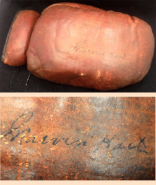 HART, MARVIN INK SIGNED BOXING GLOVE