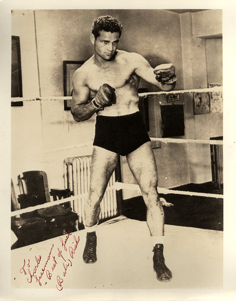"RISKO, EDDIE ""BABE"" SIGNED PHOTO"