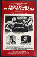 "MCGIRT, JAMES ""BUDDY""-FRANK MONTGOMERY & KELLEY-WARREN ON SITE POSTER (1991)"