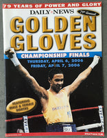 2006 NEW YORK GOLDEN GLOVES OFFICIAL PROGRAM (DANNY JACOBS)