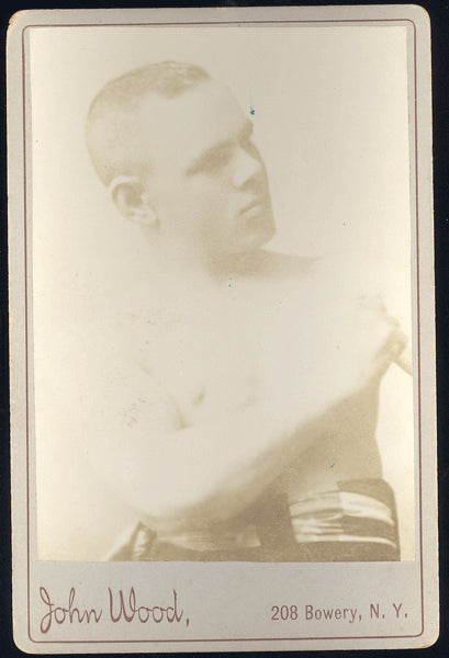 BOWEN, ANDY CABINET CARD