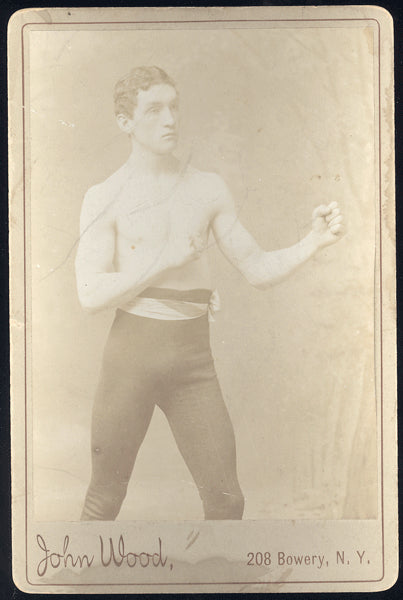 MCPARTLAND, KID CABINET CARD