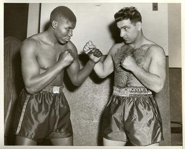 BIVINS, JIMMY-MELIO BETTINA (1945-SQUARING OFF)