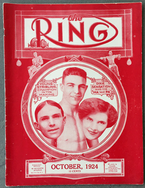 RING MAGAZINE OCTOBER 1924