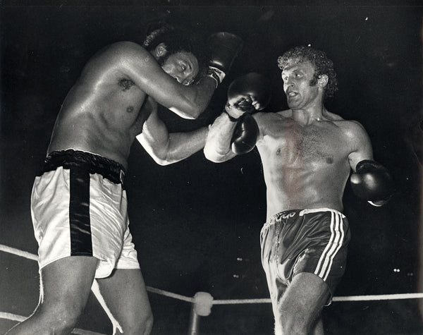 BUGNER, JOE-JIMMY ELLIS WIRE PHOTO (1974)
