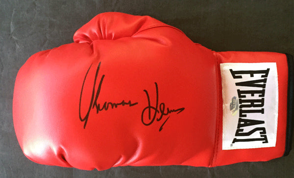 HEARNS, THOMAS SIGNED BOXING GLOVE (STEINER CERTIFIED)