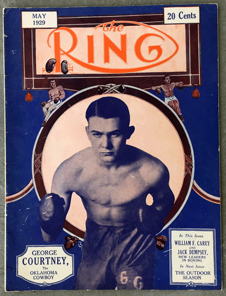 RING MAGAZINE MAY 1929