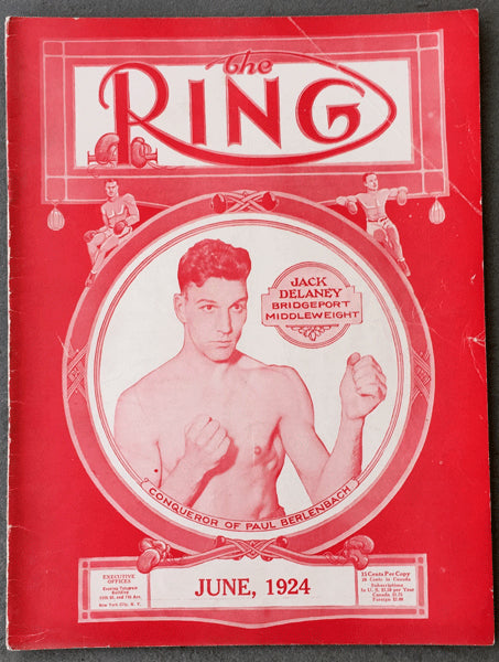 RING MAGAZINE JUNE 1924