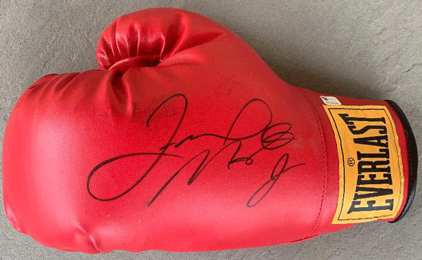 MAYWEATHER, JR., FLOYD SIGNED BOXING GLOVE (JSA)