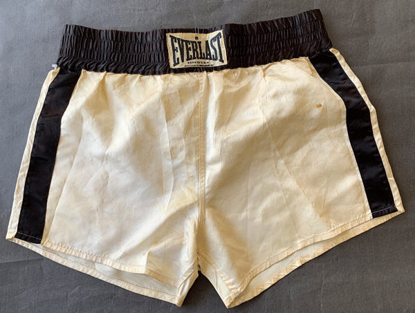 ALI, MUHAMMAD TRAINING TRUNKS (1980-HOLMES FIGHT)