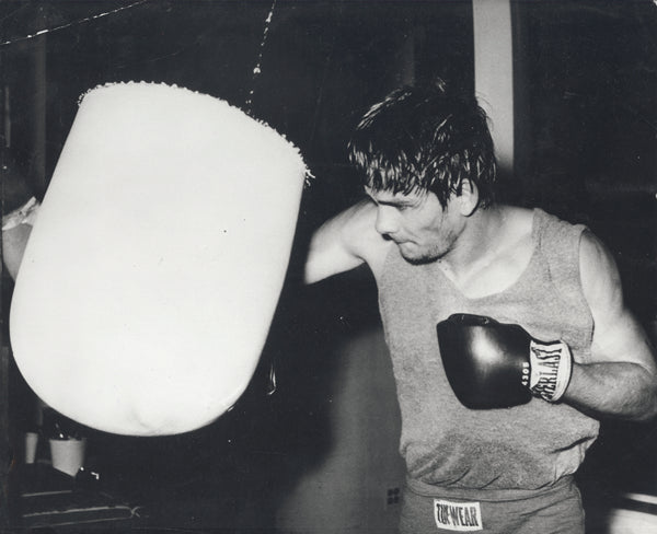 DURAN, ROBERTO WIRE PHOTO (1972-TRAINING FOR BUCHANAN)