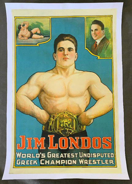 LONDOS, JIM STONE LITHOGRAPHI POSTER
