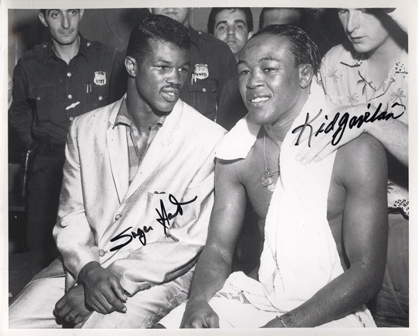 GAVILAN, KID & SUGAR HART SIGNED PHOTO