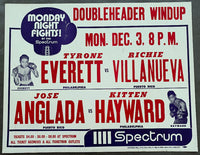 "HAYWARD, STANLEY ""KITTEN""-JOSE ANGLADA ON SITE POSTER (1973)"