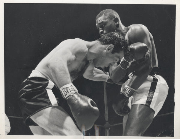 CARTER, JIMMY-PADDY DEMARCO WIRE PHOTO (1954-2ND ROUND)
