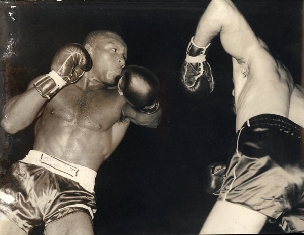 PERKINS, EDDIE-DUILIO LOI WIRE PHOTO (1962-PERKINS WINS TITLE)